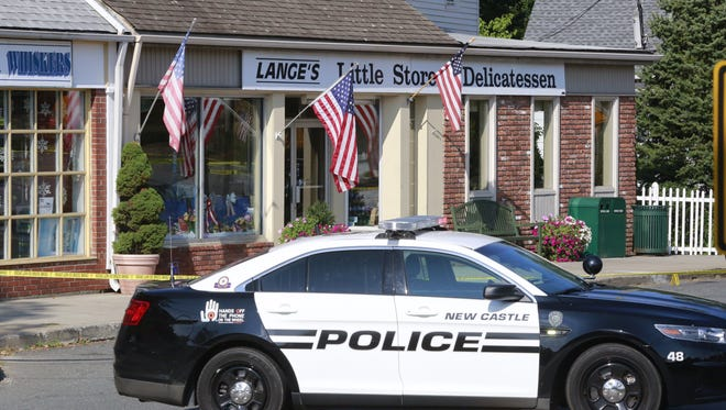 New Castle Police are at the scene of a shooting at Lange's Little Store and Delicatessen in Chappaqua,  a popular place for the Clinton's to eat.  2 people have been shot and one person is in custody.