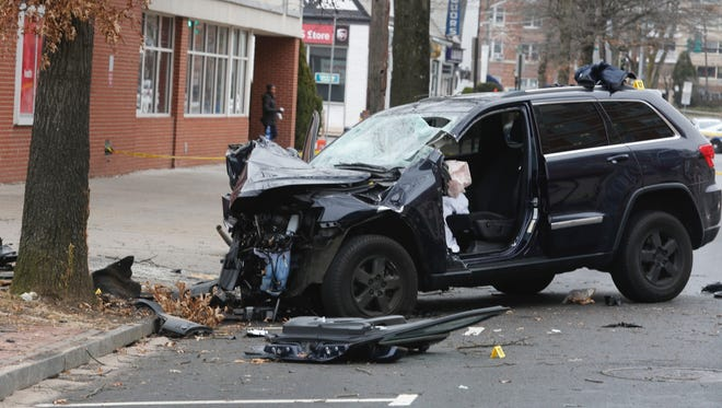 Isaac Ward, 27, died in a single vehicle accident on Mamaroneck Avenue in White Plains on Jan. 2, 2017. He was a passenger in the car driven by Harry Kyreakedes, a New Rochelle police officer.
