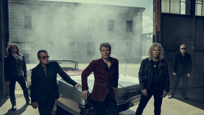Bon Jovi will perform March 22 at Bankers Life Fieldhouse.