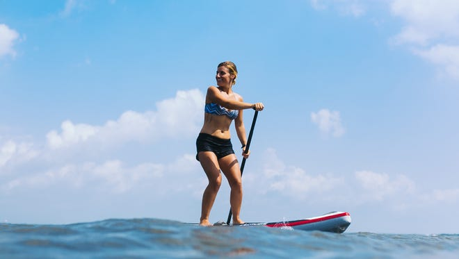 Stand up paddle boarding will be offered at ReSet by the Sea through Baycats.