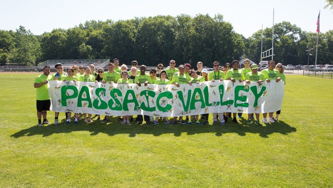 The teams from Pequannock and Passaic Valley competed in a modified 8-on-8 soccer game.