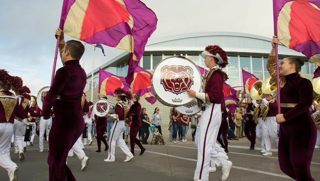 The Missouri State University parade, as part of Homecoming, will start at 9 a.m. Saturday, Oct. 16.