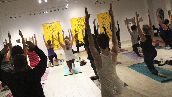 Yuletide Yoga & Wine will be taught by Vinyasa instructor Amy Jarvis who also teaches at Yoga One Studio in Cedarburg, Fox Point, and the East Side of Milwaukee.