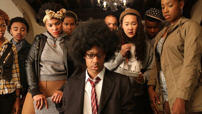 """Tyler James Williams is one of the stars of """"Dear White People,"""" a new film that examines race, class, and gender identity in America."""