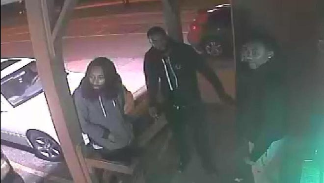 Milwaukee police would like to identify and speak to the subjects in this image from surveillance footage.