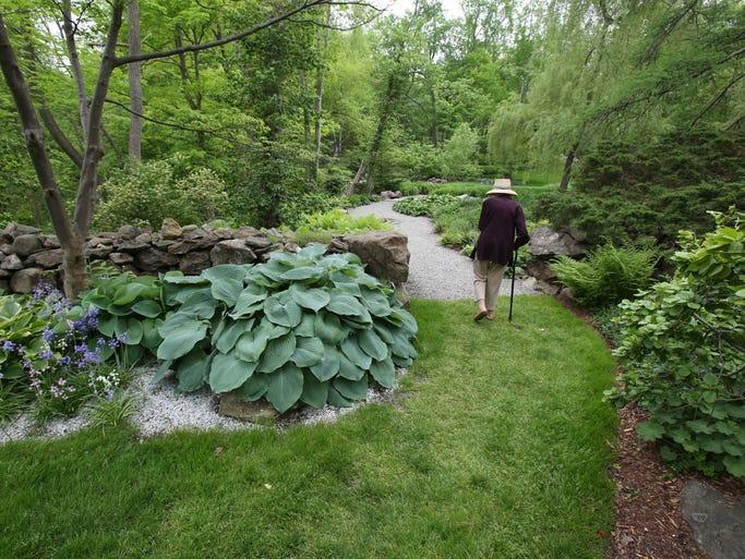 Rocky Hills, Henriette Suhr's 13-acre garden in Chappaqua May 21, 2014.