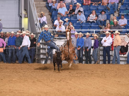 Kase Bacque, 15, recently became the youngest all-around boys' champion at the recent Louisiana High School Rodeo Association competition.