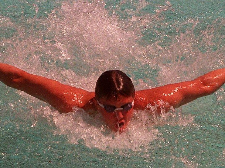 The MAIS swimming championships were held Wednesday at The Courthouse in Flowood.