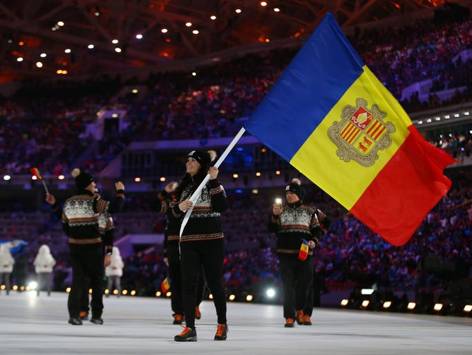 Best: Andorra. Now, this is how you do a sweater at the Winter Olympics.
