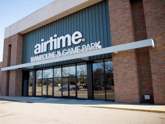 AirTime Trampoline & Game Park is situated in a former