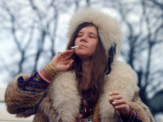 Janis Joplin, seen here i in Amy Berg's documentary