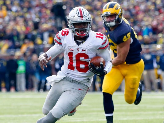 USP NCAA FOOTBALL: OHIO STATE AT MICHIGAN S FBC USA MI
