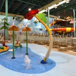I got to see the inside of the new Great Wolf Lodge, and it's going to be awesome!