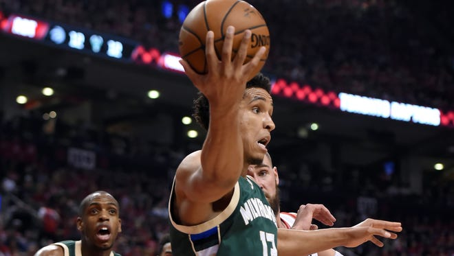 Bucks guard Malcolm Brogdon is a strong rookie of the year candidate at 24 years old.