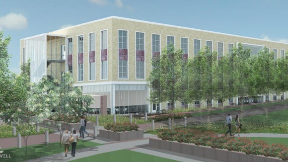 Architectural renderings for a proposed $25 million