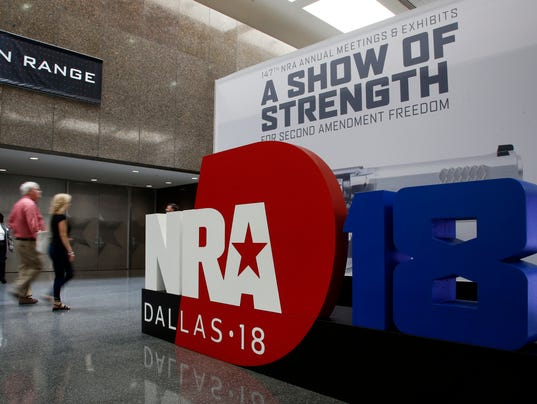 NRA CONVENTION TEXAS