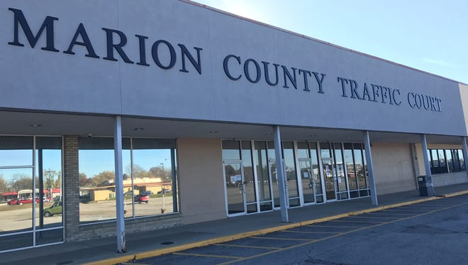 Marion County Traffic Court was unexpectedly suspended Wednesday due to mechanical issues, according to signage on the front doors.