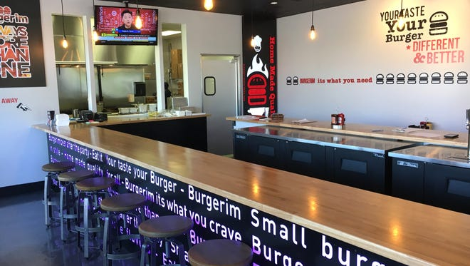 The first Ventura County location in the Burgerim restaurant chain is now in its soft-opening phase in Newbury Park. An additional location is planned in downtown Ventura.