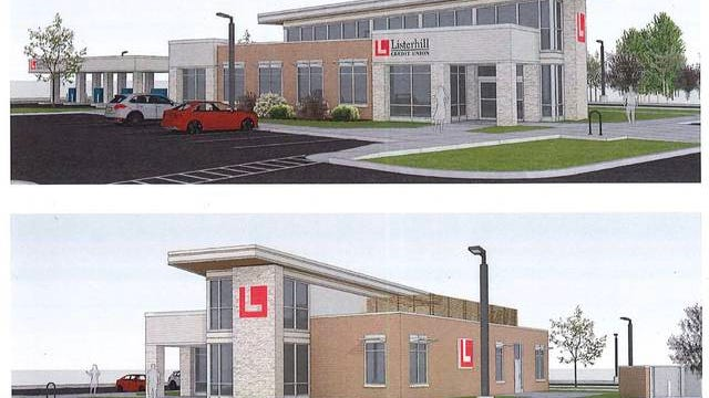 Site plans for a new Listerhill Credit Union at The Crossings in Spring Hill were approved Monday by the city's Municipal Planning Commission.