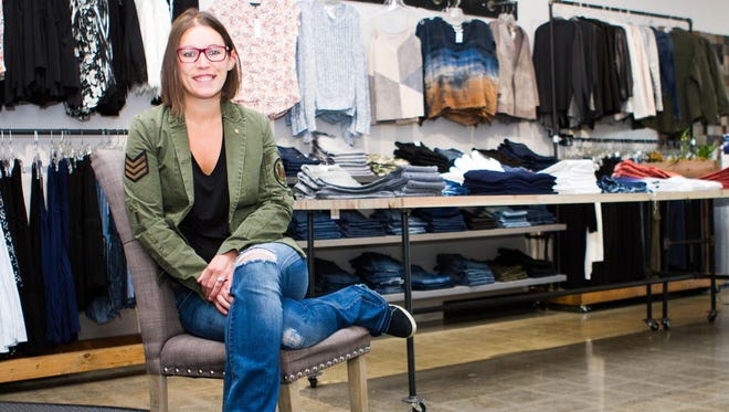 Ariana Carps is the co-owner of Rear Ends jean shops in West Bloomfield and Bloomfield Hills.