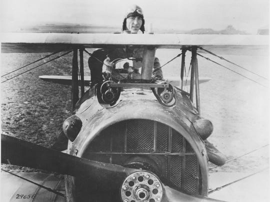 Captain Eddie Rickenbacker, American ace fighter pilot,