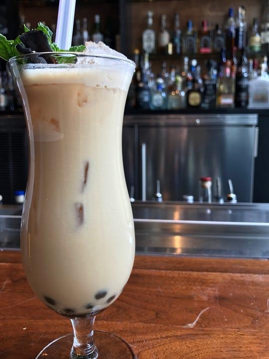 Boba Tea Cocktail