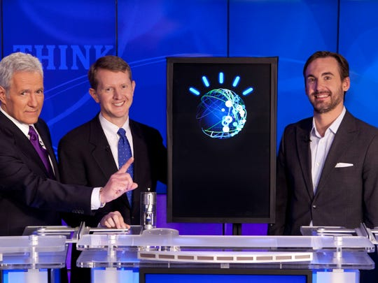 'Jeopardy!' champs Ken Jennings and Brad Rutter have faced off before, against IBM's Watson computer, but never against champ James Holzhauer.