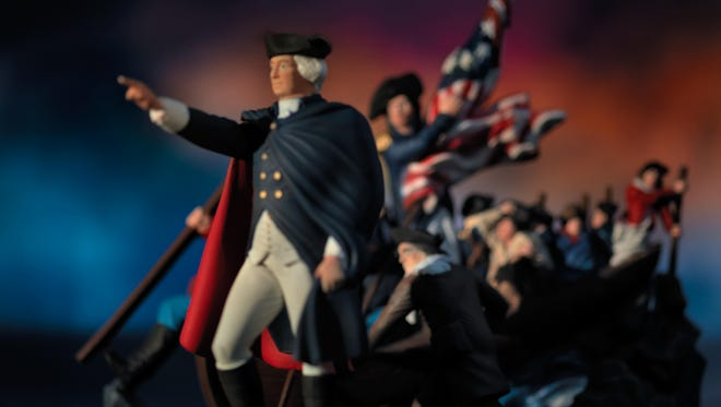 Washington Crossing the Delaware, 2013. From the series, History.