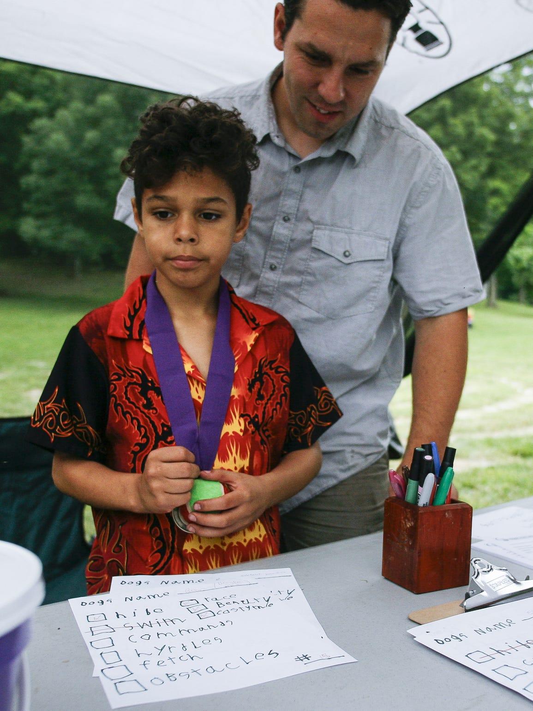 Tashmica's son Isaac Torok helped organize  the Dog