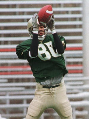 Darrin Charles played football for Oshkosh North in 2000.