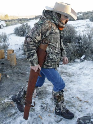 Arizona rancher LaVoy Finicum was killed during a traffic stop on Jan. 26, 2016.