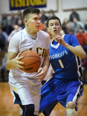 Elco's Caleb Buchmoyer will play a critical role for the Raiders during their trip to McCaskey on Saturday in the first round of the L-L boys basketball tournament.