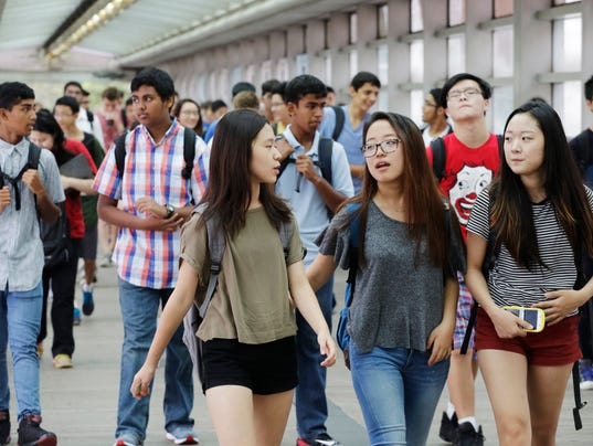 AP FIRST DAY OF SCHOOL NYC A USA NY