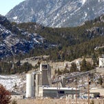 This photo shows the Stillwater Mining Company, the only platinum and palladium mine in the United States near Nye.