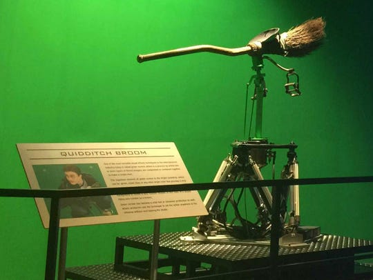 Harry Potter's broom from the expanded Warner Studio