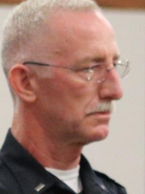John Gangway, Catawba Island police chief