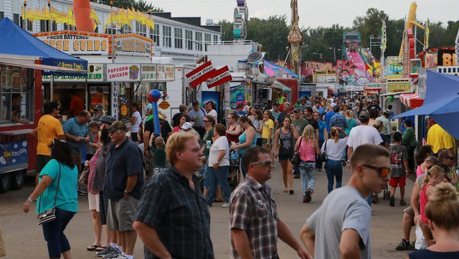 The Central Wisconsin State Fair is underway and runs through Labor Day.