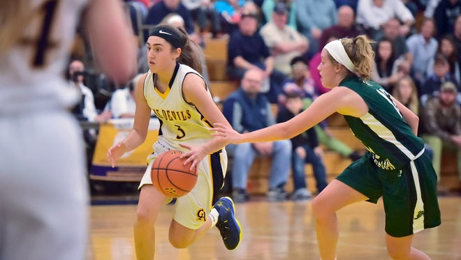Local teams opened their season during the Franklin County Basketball Tip-off Tournament at Greencastle, Friday, December 8, 2017.