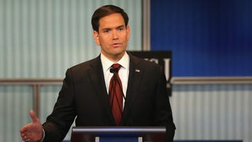 Marco Rubio finds fans in campus Republicans