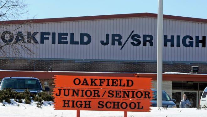Oakfield high school.