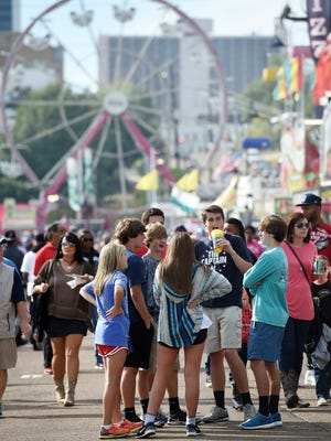 Last day of the Mississippi State Fair in Jackson.