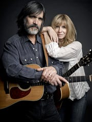 """At this stage in our lives I can't imagine a better situation than being able to get out there together,"" Larry Campbell said of his shows with Teresa Williams."