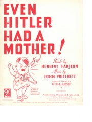 """Even Hitler had a Mother!"" -- Mother songs didn't"