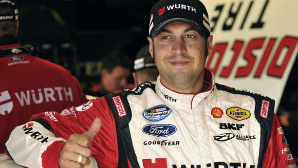 Sam Hornish Jr. is comfortable with how his career