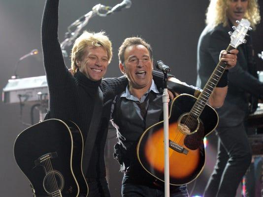 Springsteen and Bon Jovi