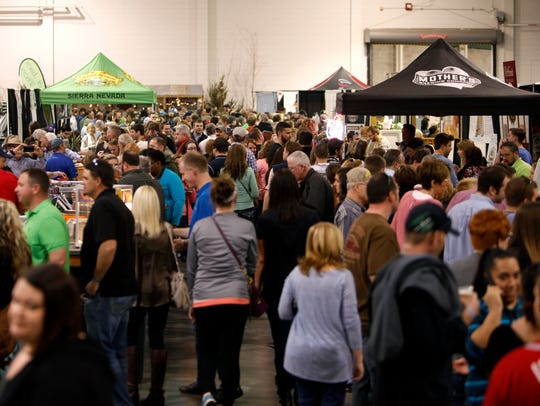 Thousands were in attendance for the third annual Beer,