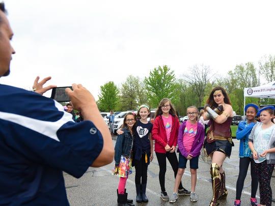 """I do it to bring smiles to kids' faces,"" Katie Whitakker"