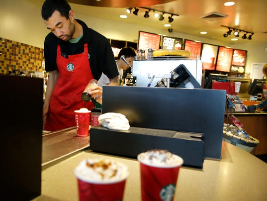 AP EARNS STARBUCKS F A USA WA