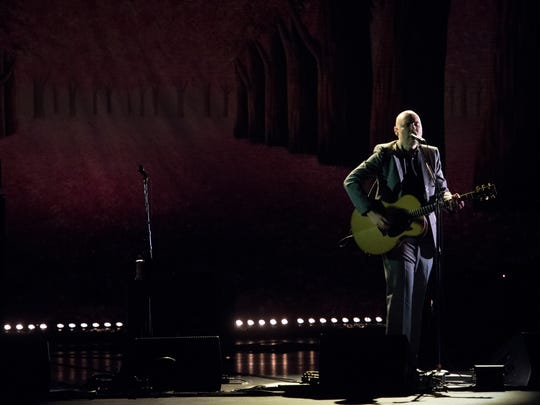Billy Corgan performs at the Beacon Theatre in New York last year.