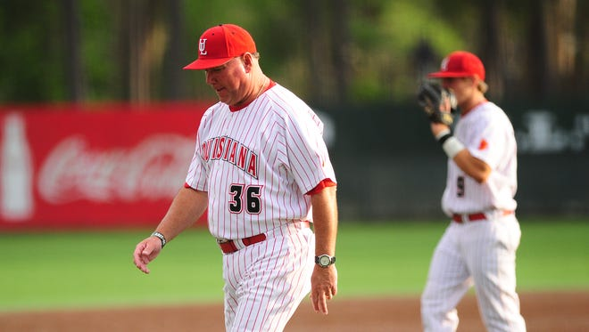 How many trips UL coach Tony Robichaux makes to the mound tonight could be the deciding factor.